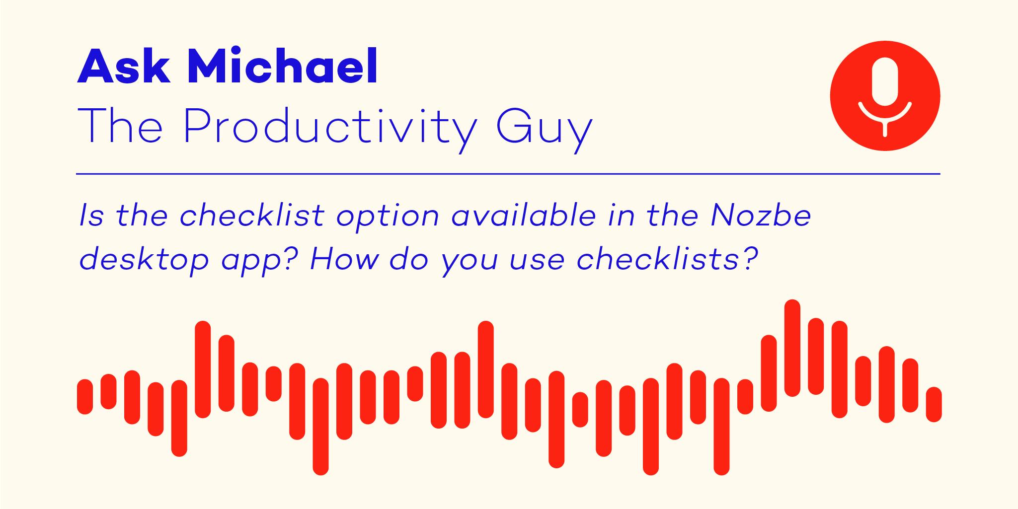 Ask Michael s04e02