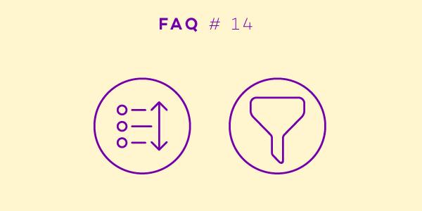 Cómo filtrar y ordenar las opciones de trabajo - Parte 14 de nuestra serie mensual de publicaciones en el blog P+F