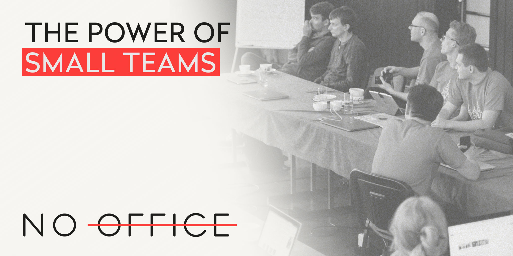The No Office Podcast - behind the scenes of remote work and dispersed team management