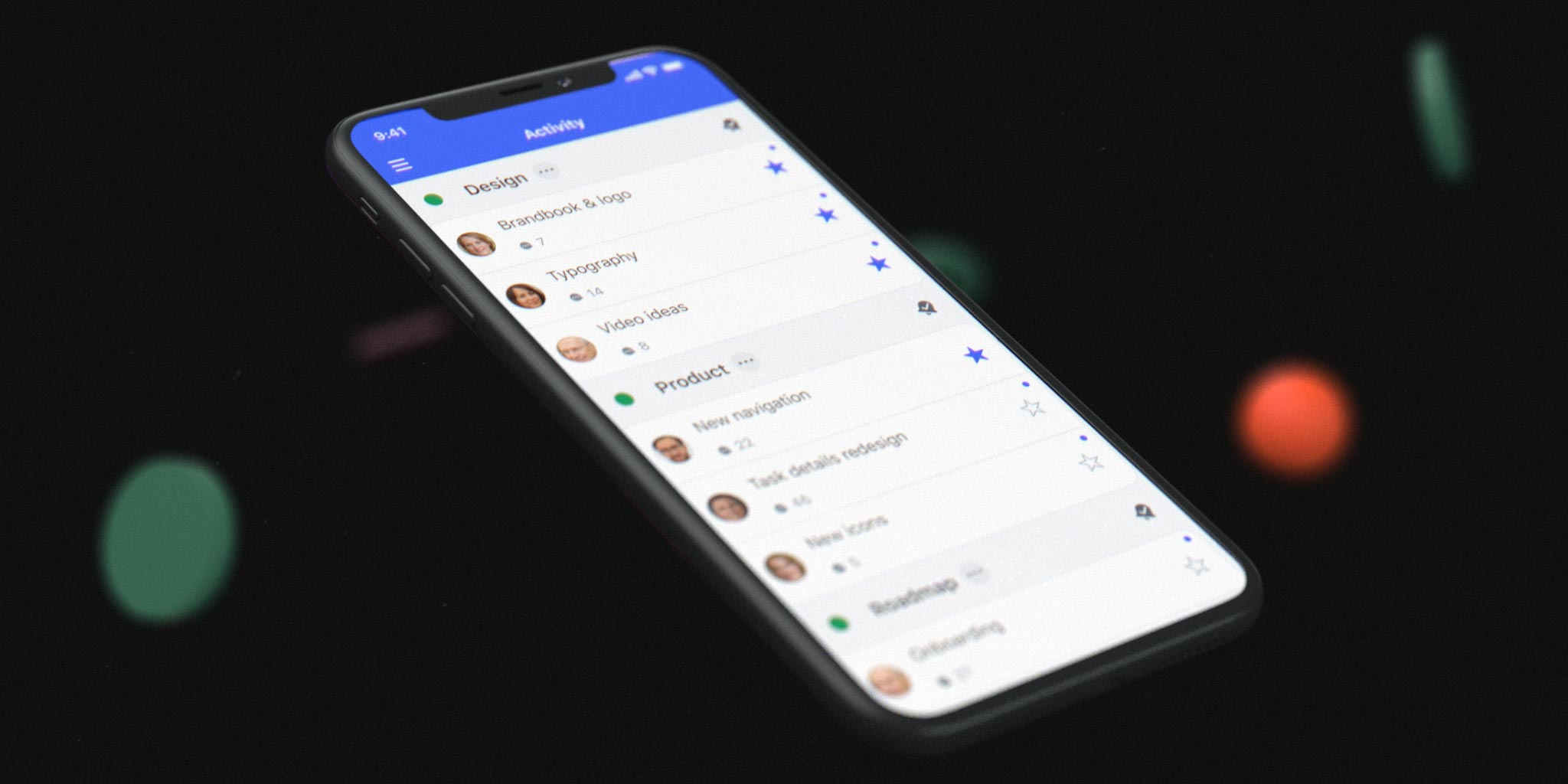 New Nozbe Teams product video and the Product Hunt page of our team collaboration app